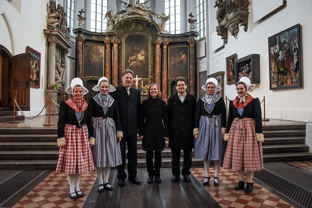 Ordinationsgottesdienst der Pfarrerin Jadwiga Mahling am 15. März 2015 in Berlin