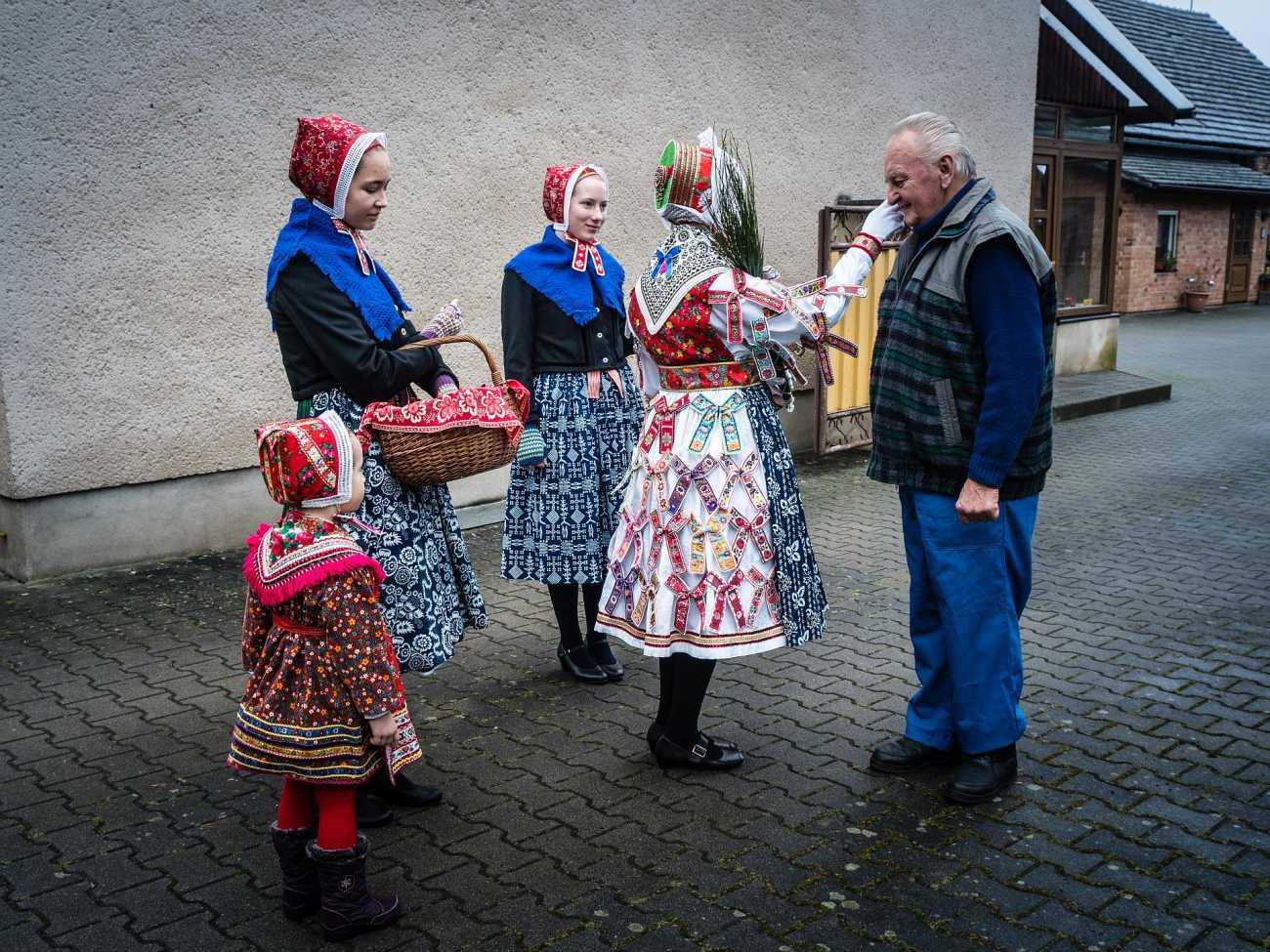 Vom Klein Trebendorfer Christkind gesegnet - 22. Dezember 2017