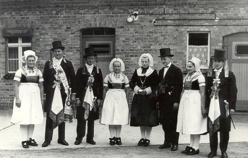 1972 - Dorffest anlässlich 700 Jahre Schleife