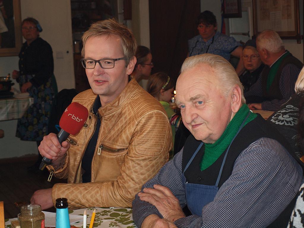 Im Interview mit Christian Matthée am 8. April 2017 auf dem Njepila Hof