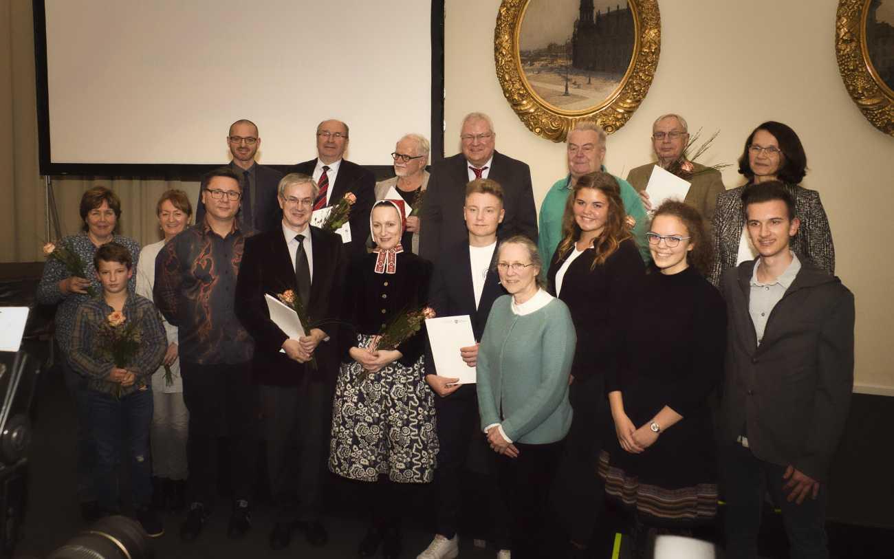 Sächsischer Landespreis für Heimatforschung 2019 - Preisverleihung am 08. November 2019 im Stadtmuseum Dresden